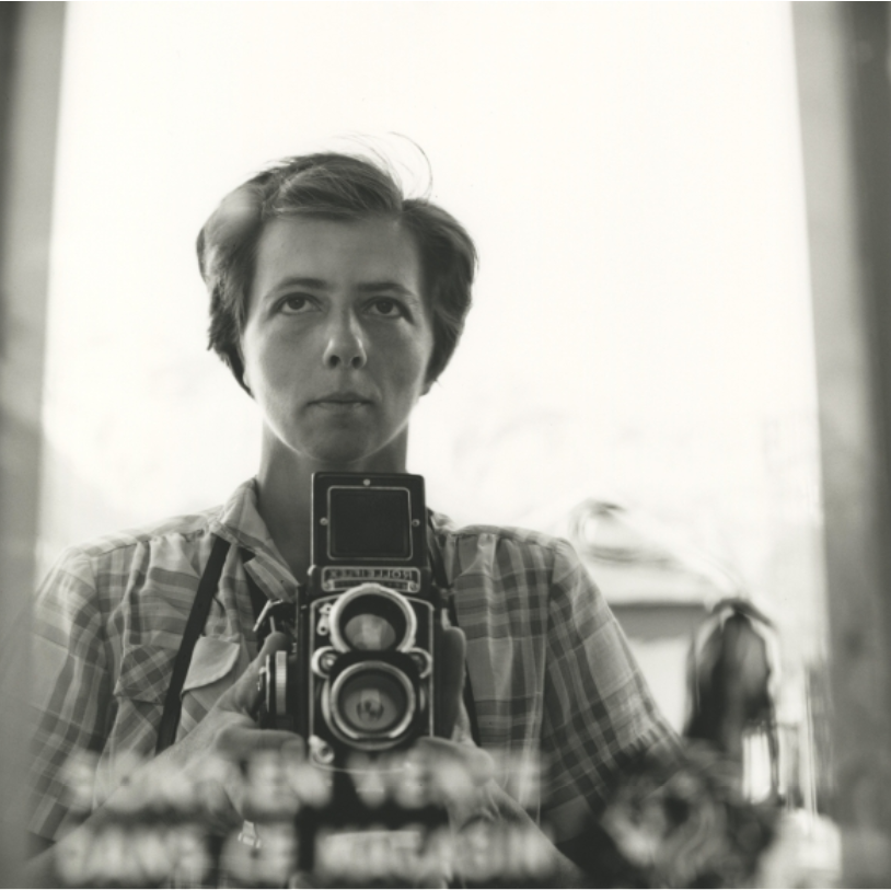 1959- Vivian Maier, The Self-portrait and its Double